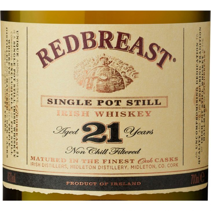Виски Redbreast 21 Year Old